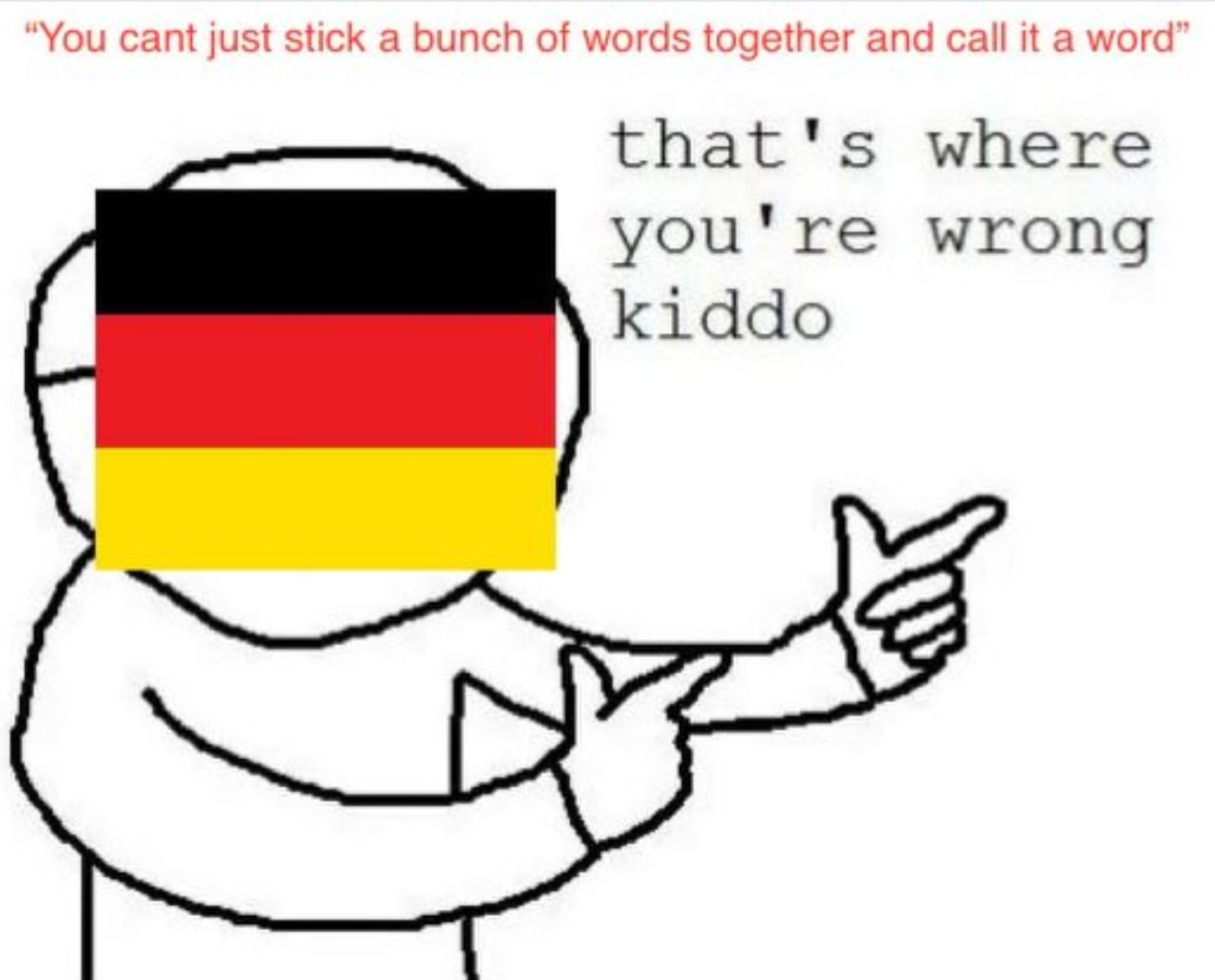 Germans being germans