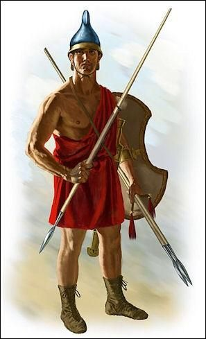 My dad in the Peloponnesian War in 418 BC. Didn't know this picture existed until I came across it randomly on the internet. He cried when he saw it. Hope this is the right place to post it.