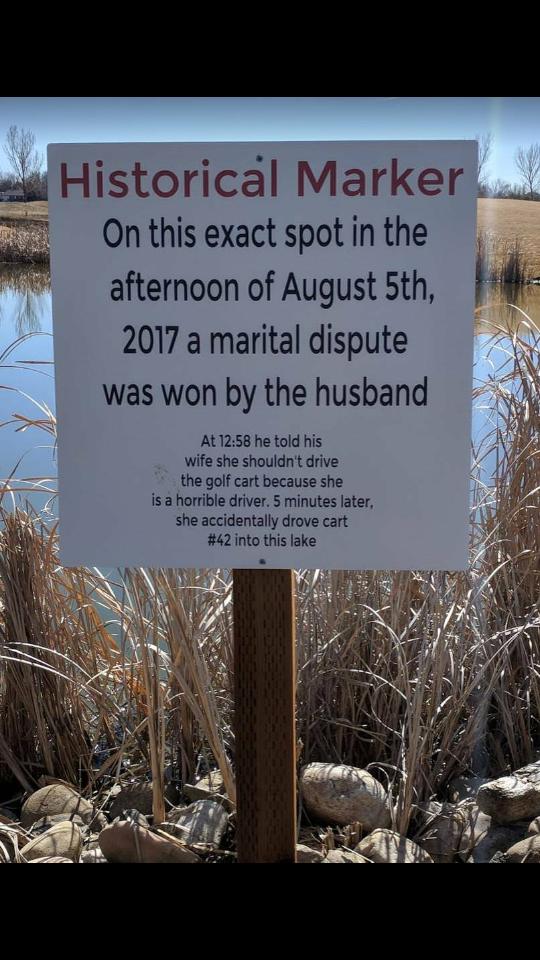 Honest signage