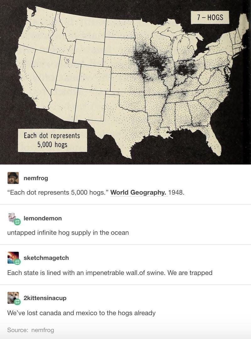 The hog invasion