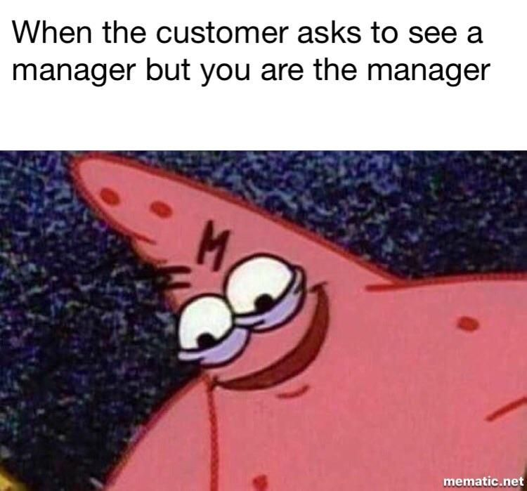 Evil Patrick meme is getting too real