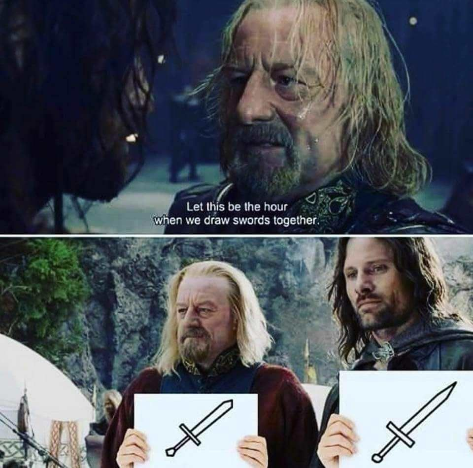 Aragorn's play date