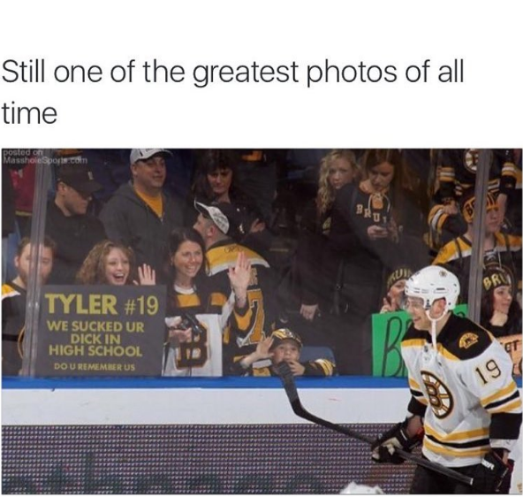 Greatest fans in hockey history.