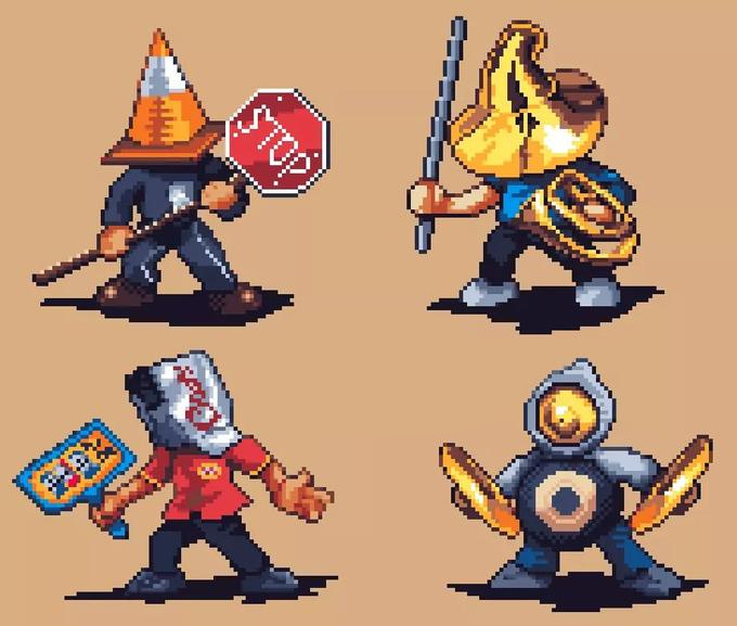 The four horsemen 16bit edition