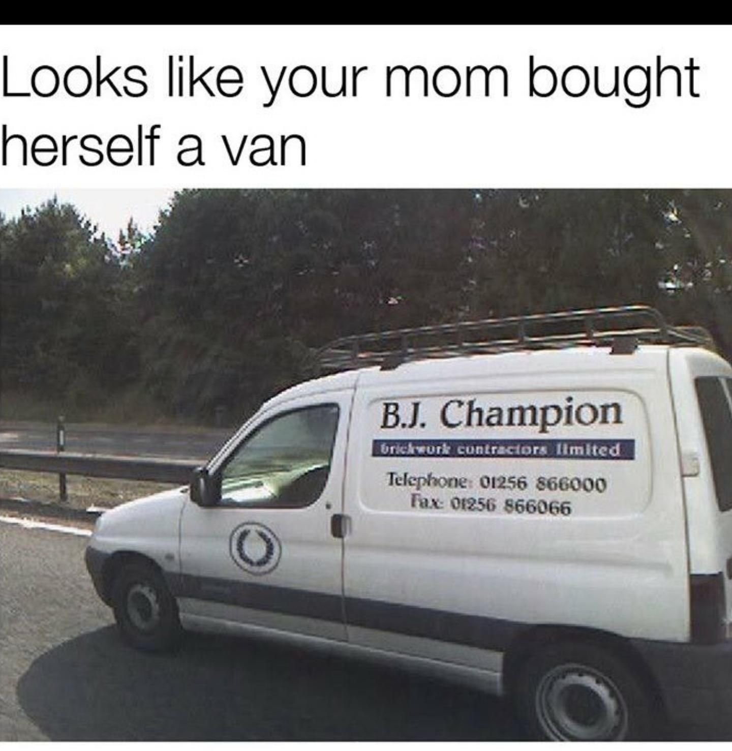 Your mom's work truck