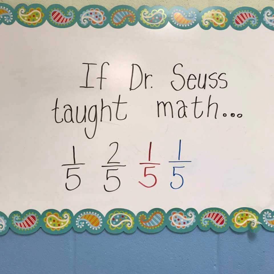 If Dr. Seuss taught Math