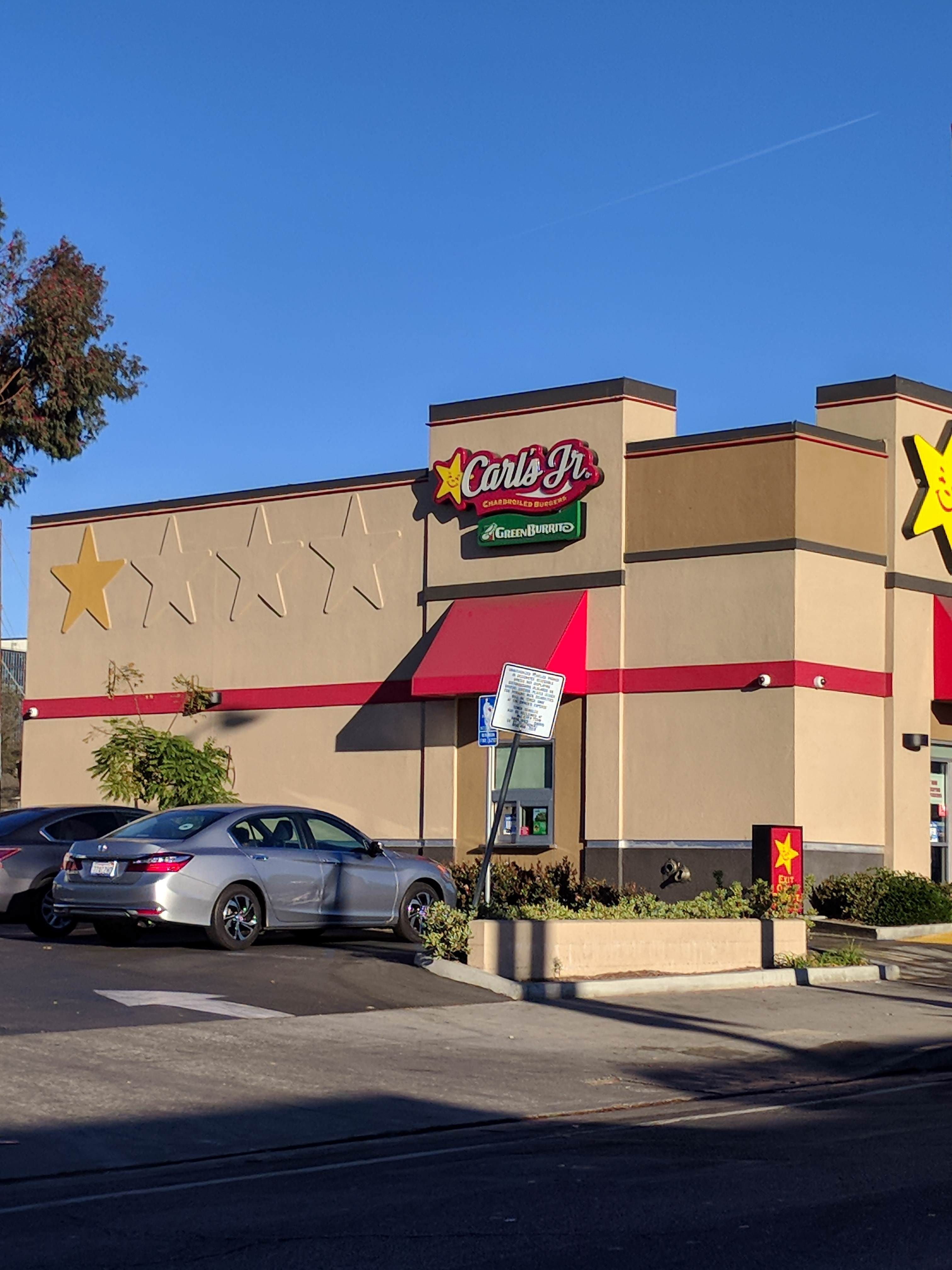 This Carl's Jr. rated itself 1 out of 4 stars.