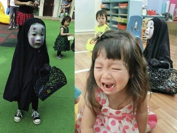 'Spirited Away' costume too spooky for other kindergartners