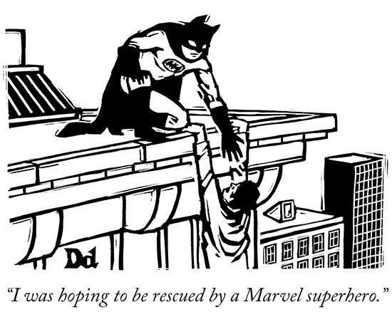 Being a die hard fan of DC comics, I laughed at this quite a lot :) Saw this on The New Yorker