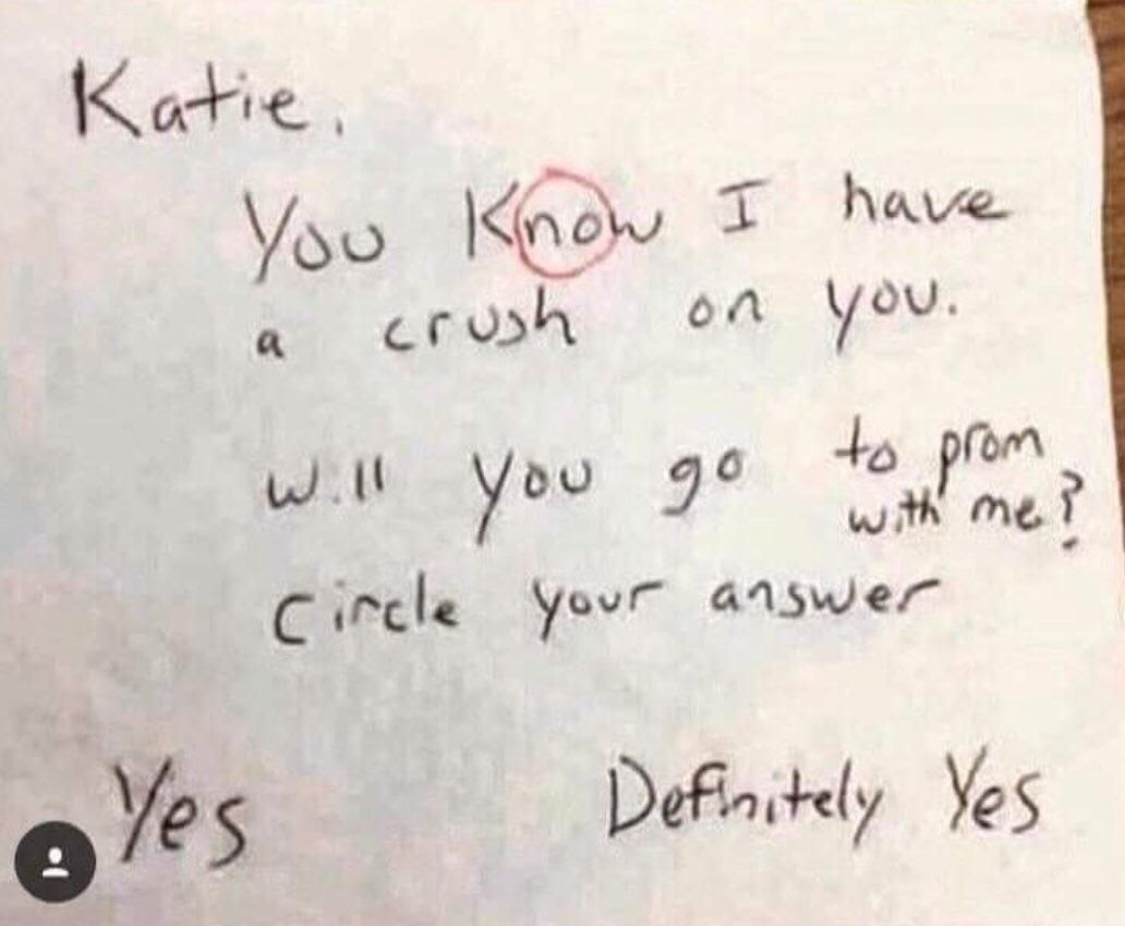 Katie is a savage.