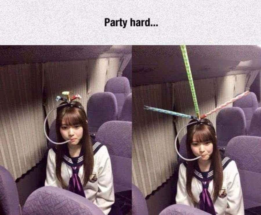 Party harder