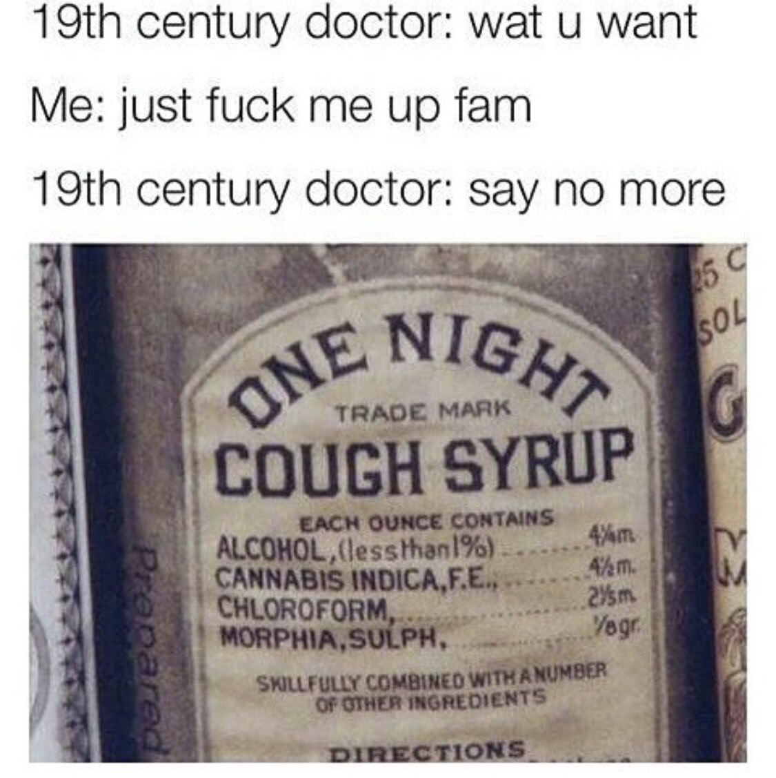 Just the right medicine