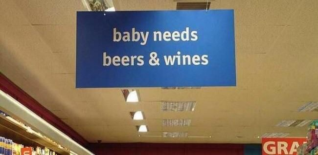 I don't know how qualified this sign is to tell me about parenting