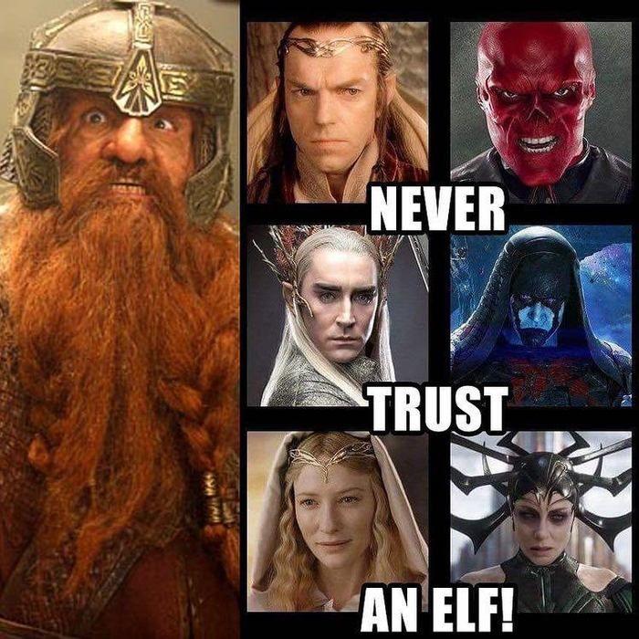 Never trust an elf!