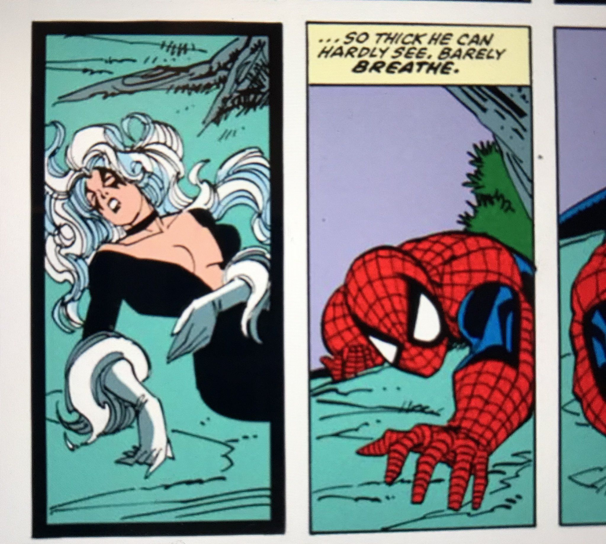 spidey's thot senses are tingling