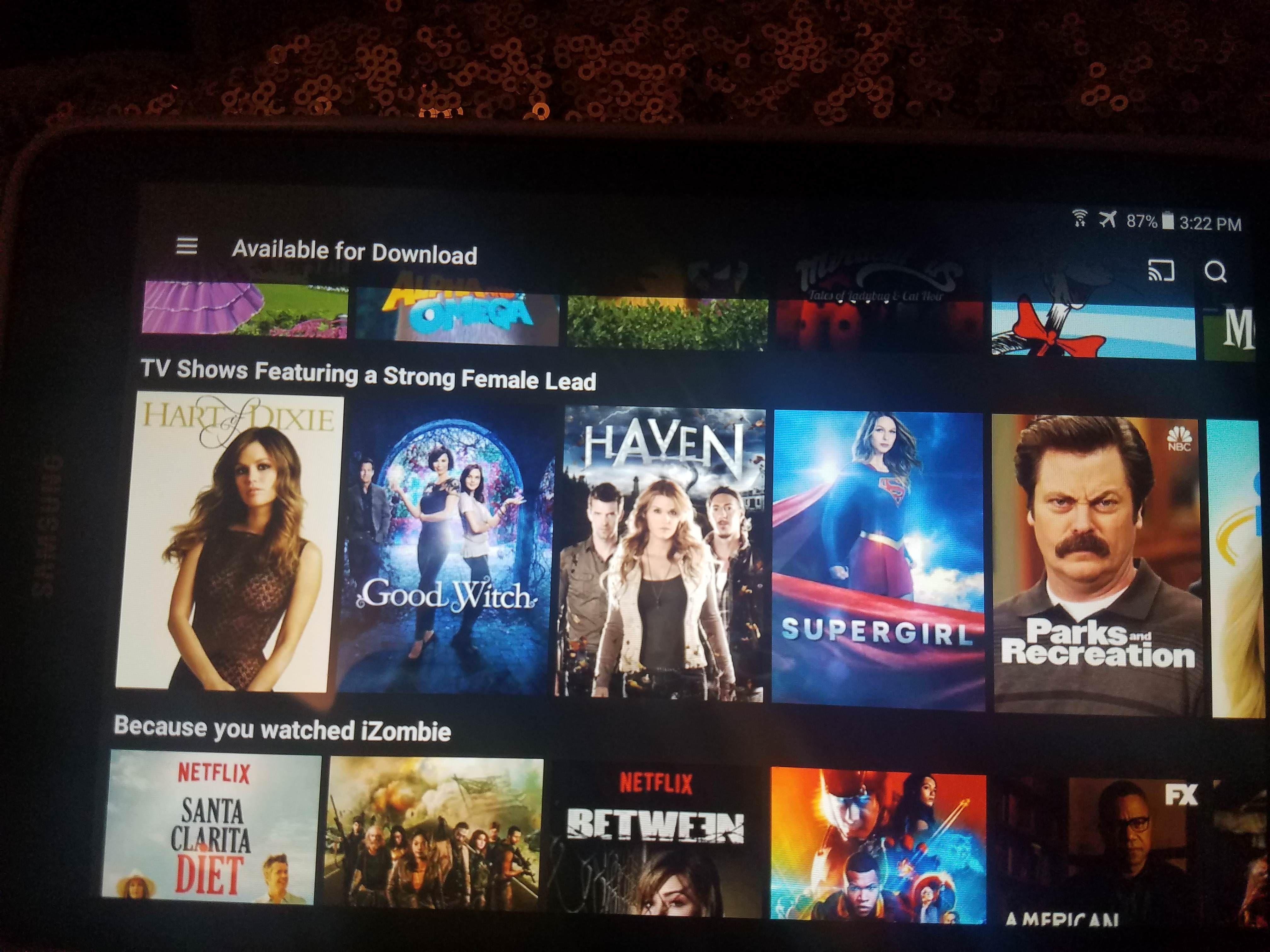 Netflix got it right! You go Ron!
