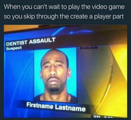 is dentist assault really a crime tho? more like self-defense imo