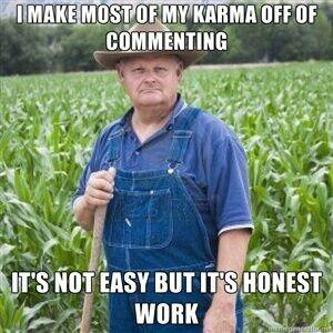 It's honest work.