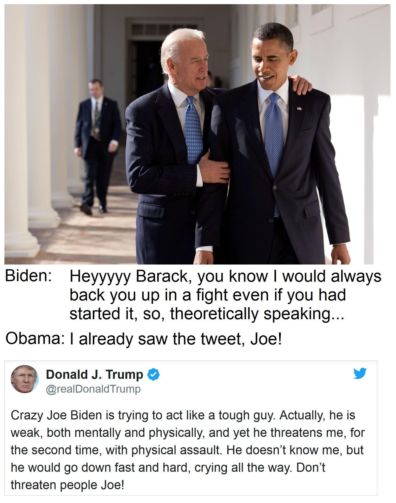 crazy Joe Biden