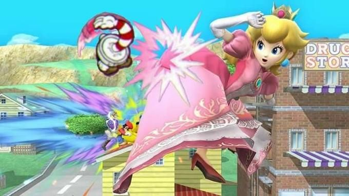 Leaked image of the next Super Smash bros.