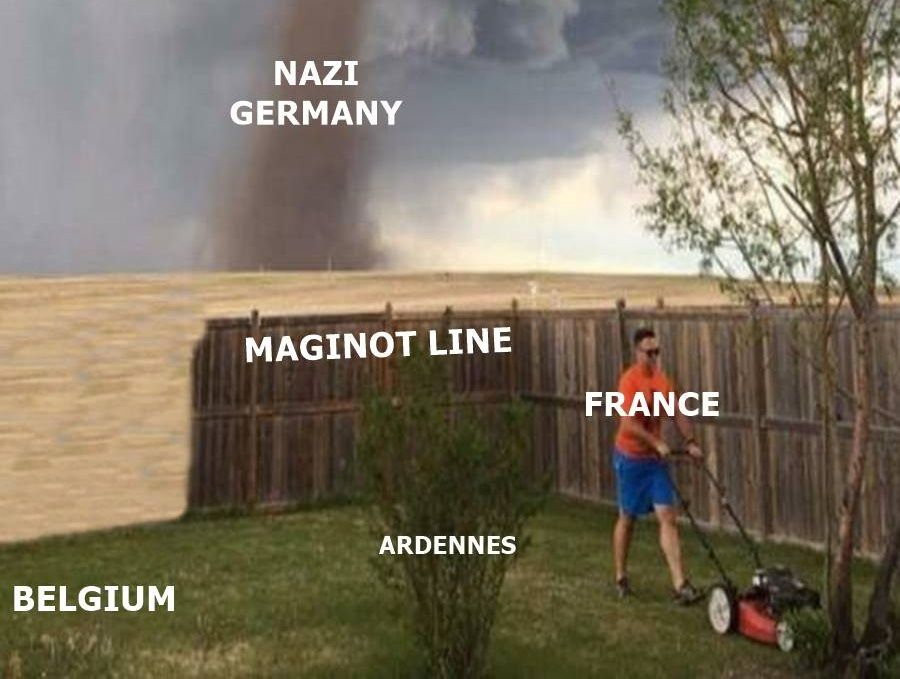 Objectively, this is one of the most accurate descriptions of early WWII in existence