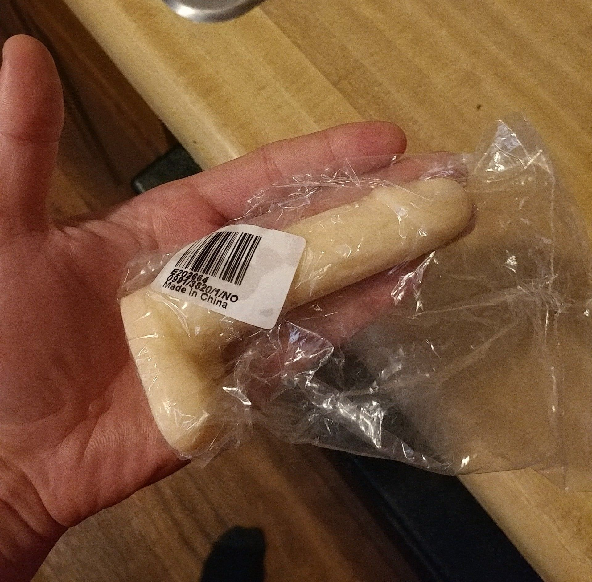 """My wife ordered a new """"toy"""" from an app that gets things directly from Chinese manufacturers. This is what came in the mail."""