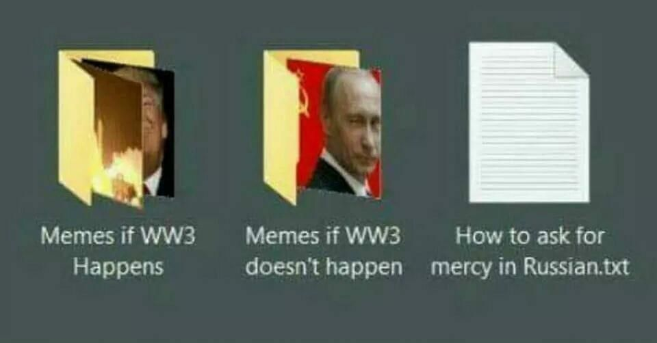 There's a folder for every occasion...