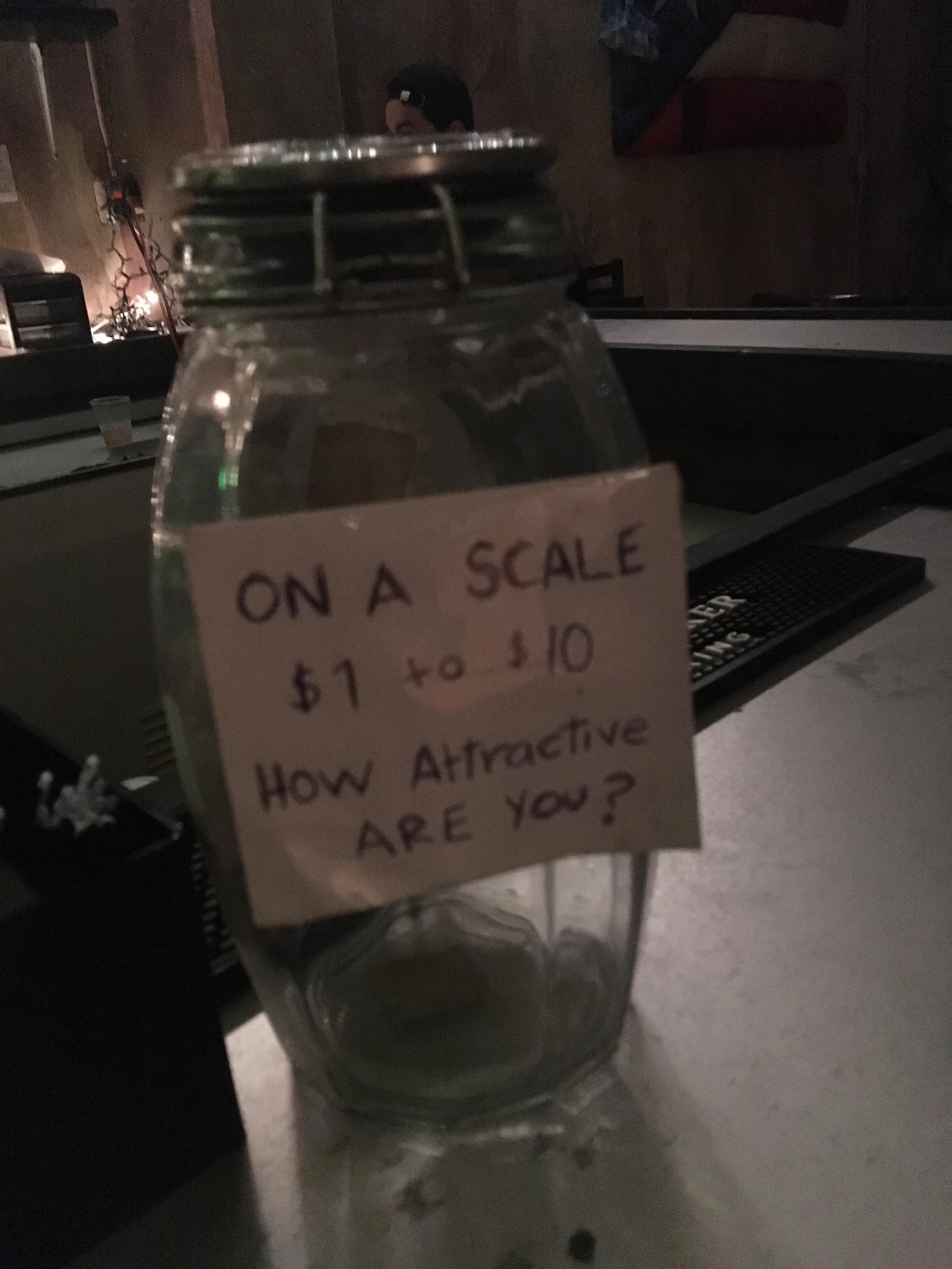 This tip jar