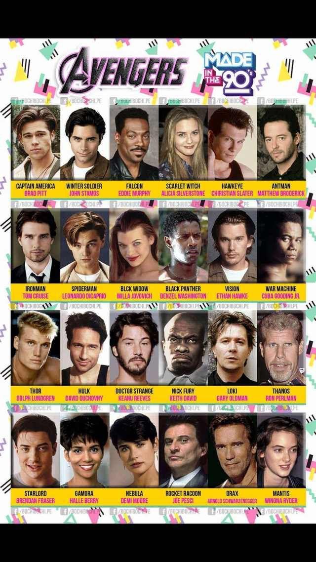 Avengers 90s style