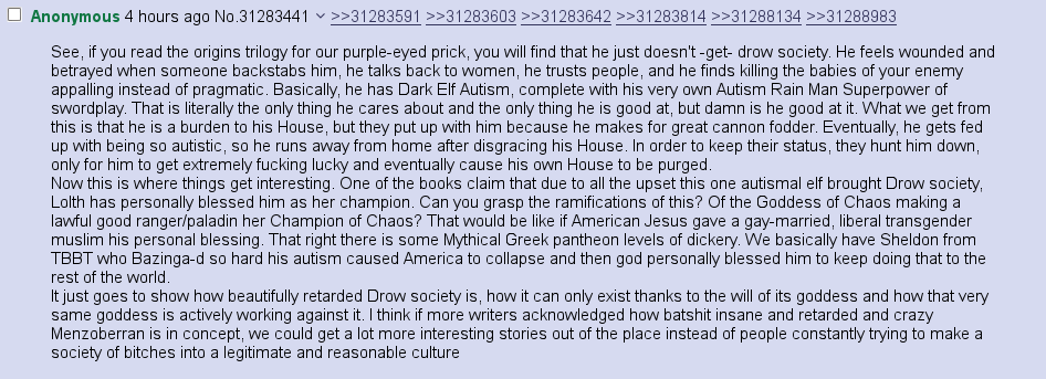 Drow autism