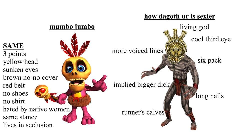 Mumbo Jumbo is a cuck