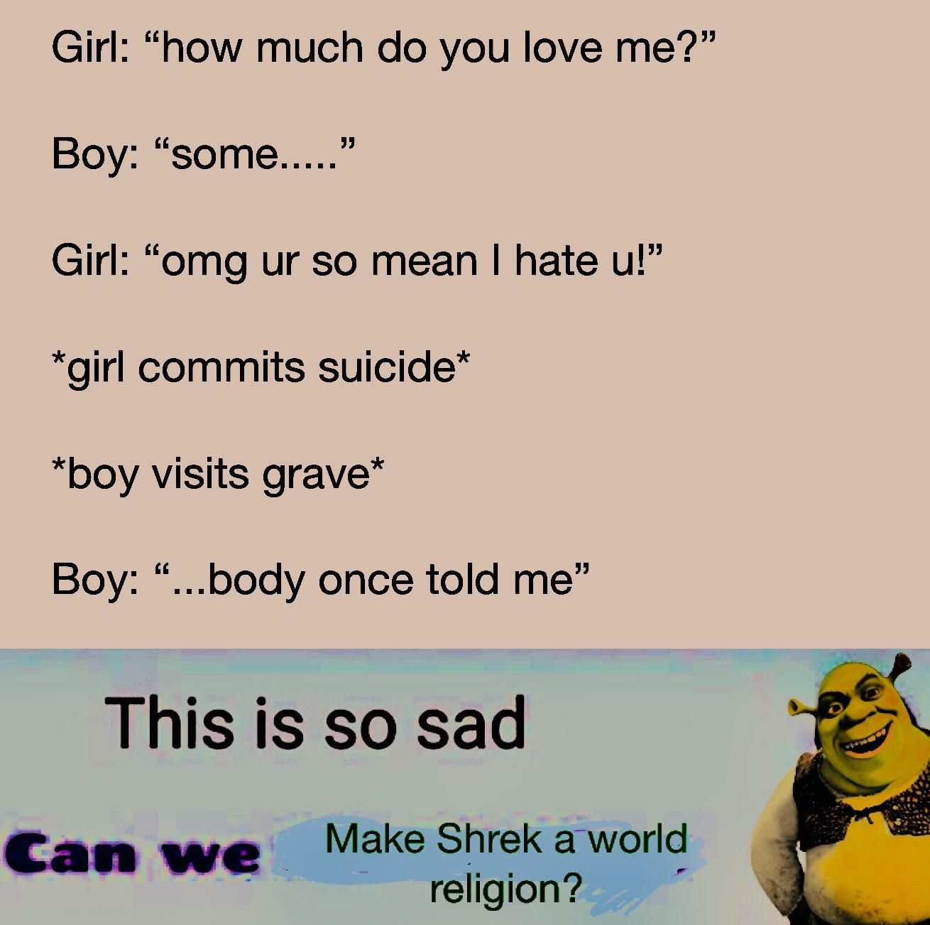 Sad reacts only :'(