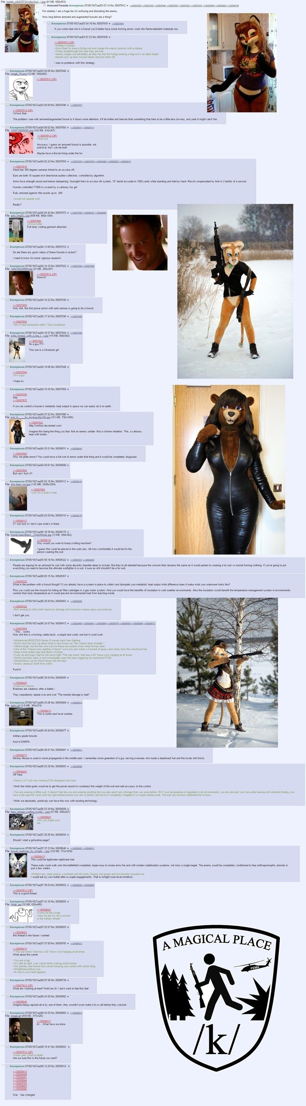 >Tactical Fursuit