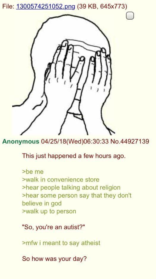 Anon is just sad