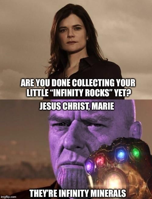 Marie always did have a thing for purple