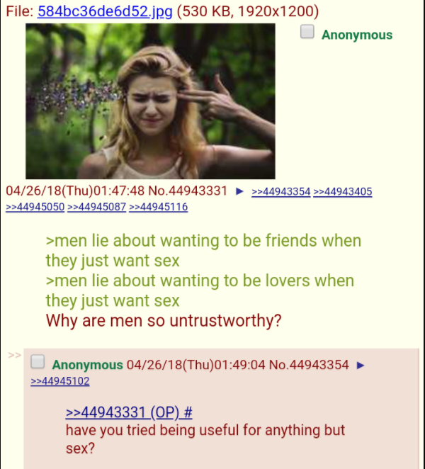 Anon gets roasted