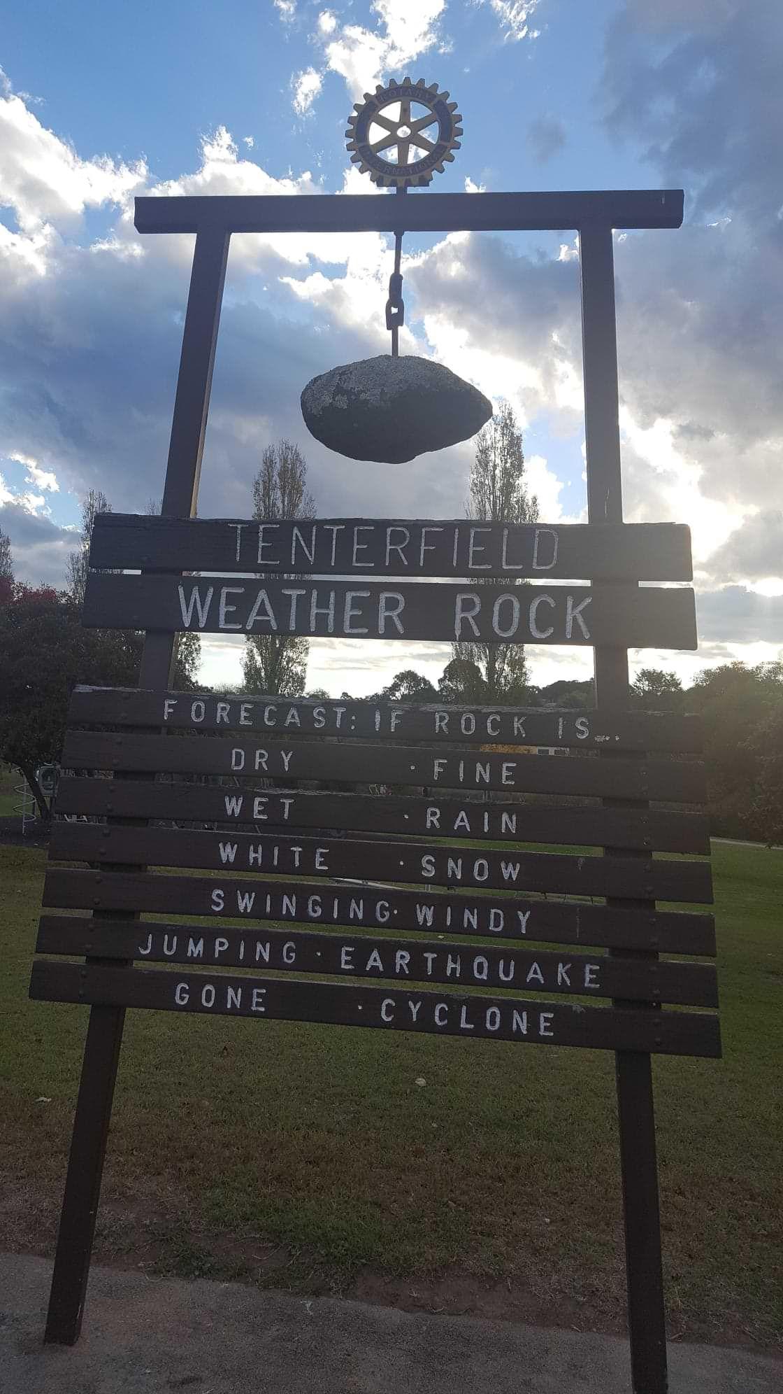 This Weather Rock in Regional NSW,Australia.