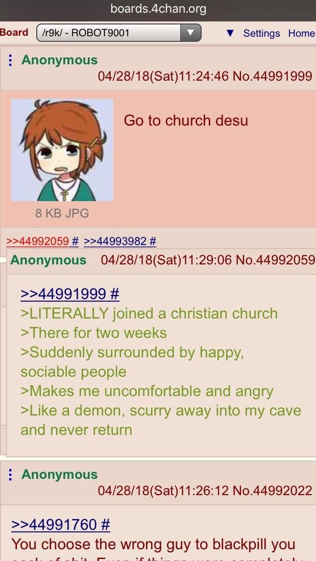 Anon is the devil