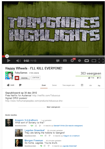Epic Youtube Comments!