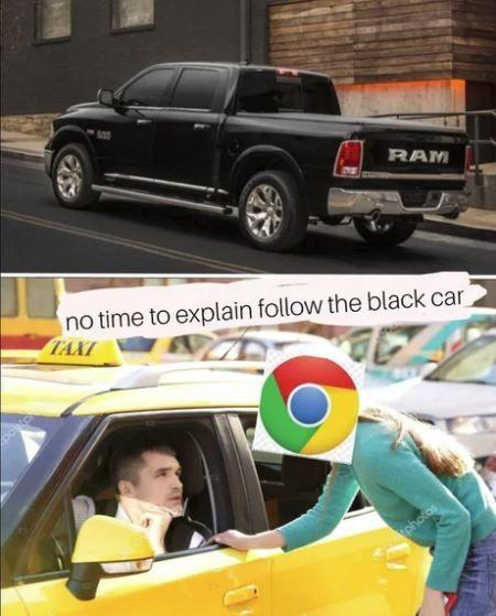 Quick, we must go