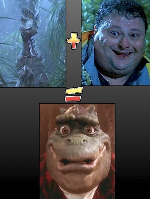 "For all you '90's kids out there, ever wonder how the talking dinosaurs from the show ""Dinosaurs"" came to be?"