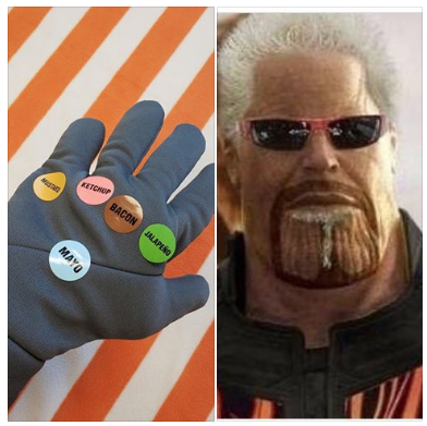 total control of Flavortown is imminent