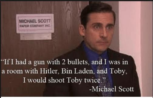 Hitler, Bin Laden and Toby...