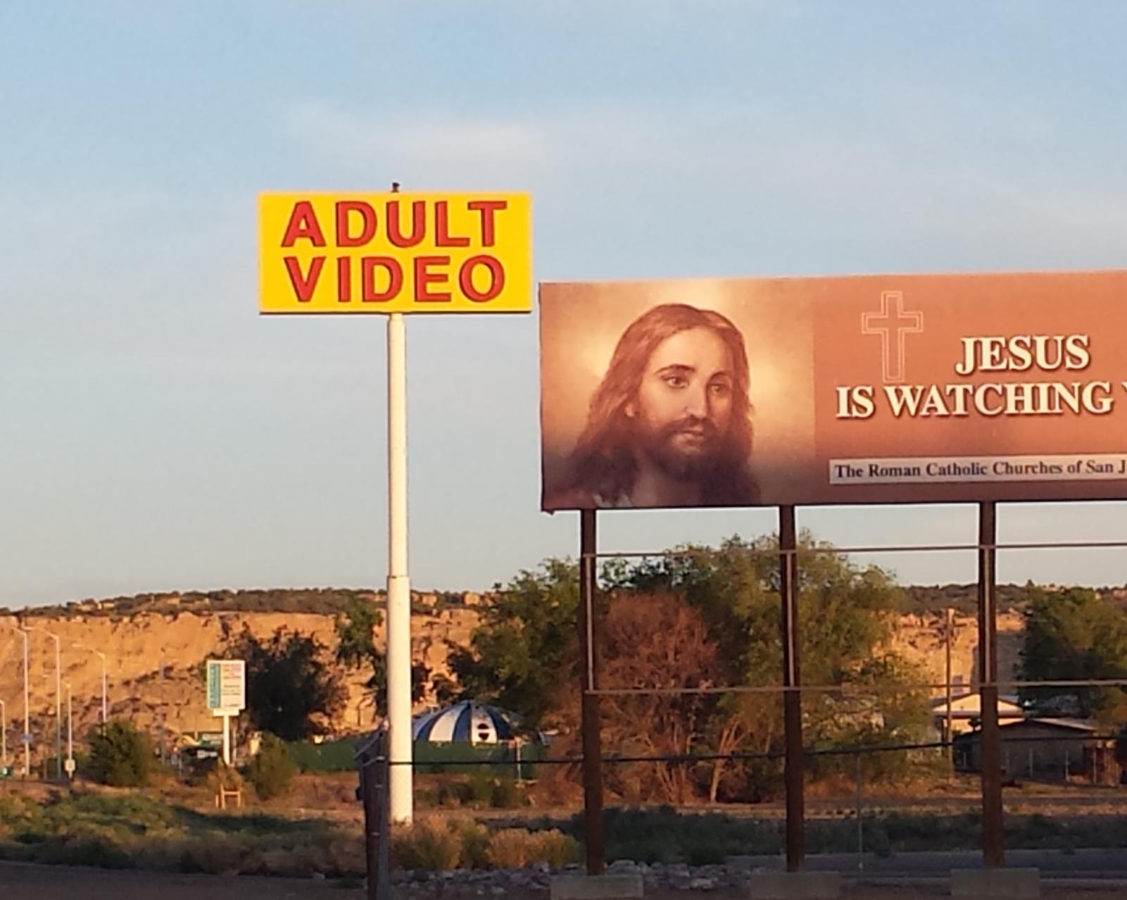 He is always watching. ALWAYS!