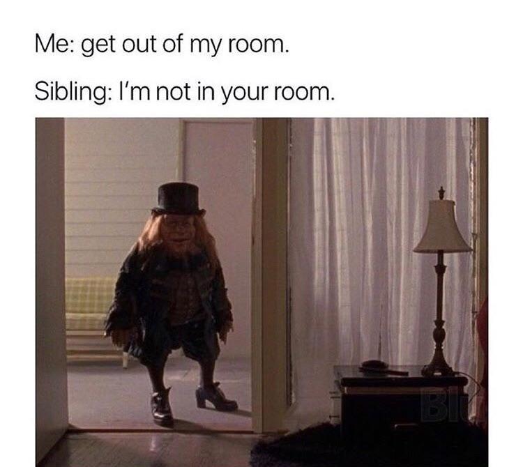 """""""I'm telling mom!"""""""