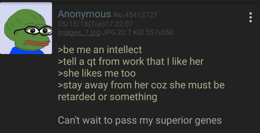 Anon is smart