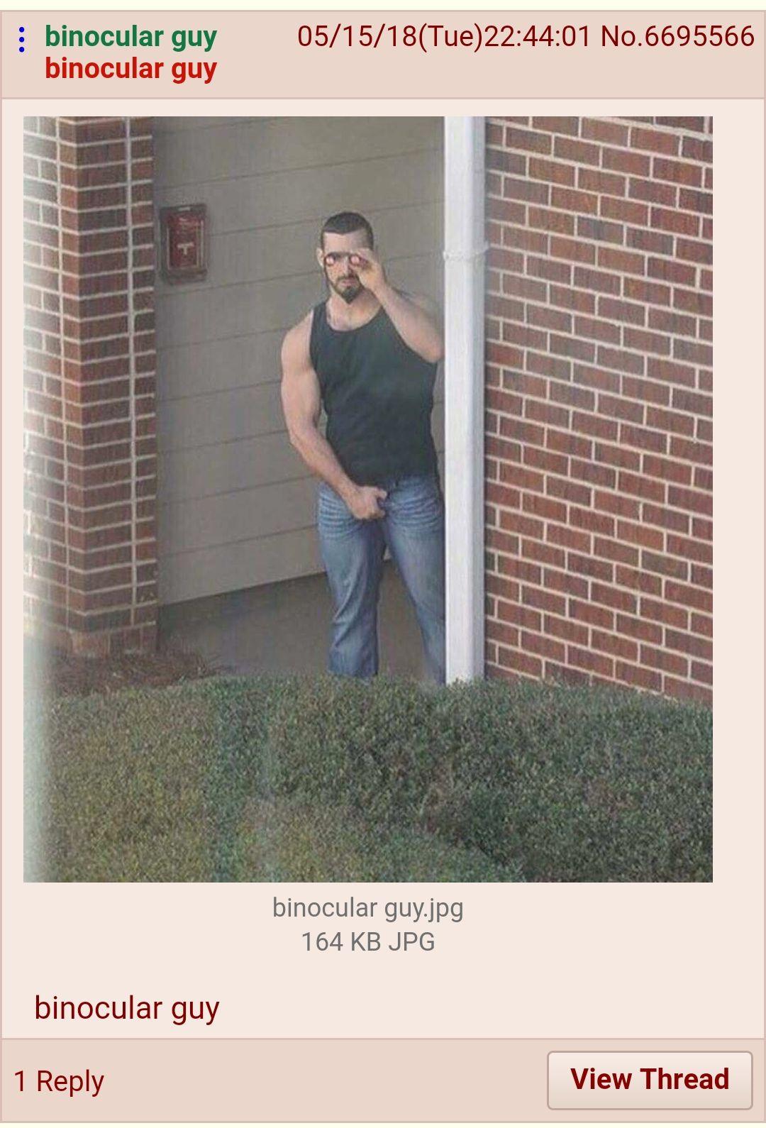 binocular guy