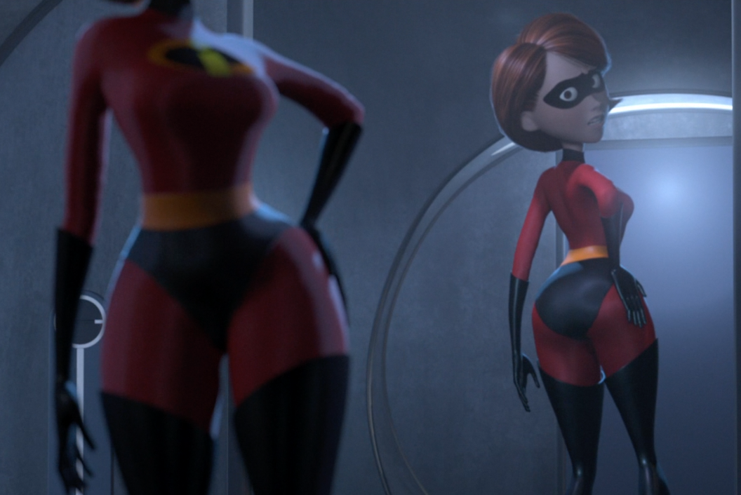 Wasn't that hyped for Incredibles 2 until I remembered how thicc Elastigirl is.