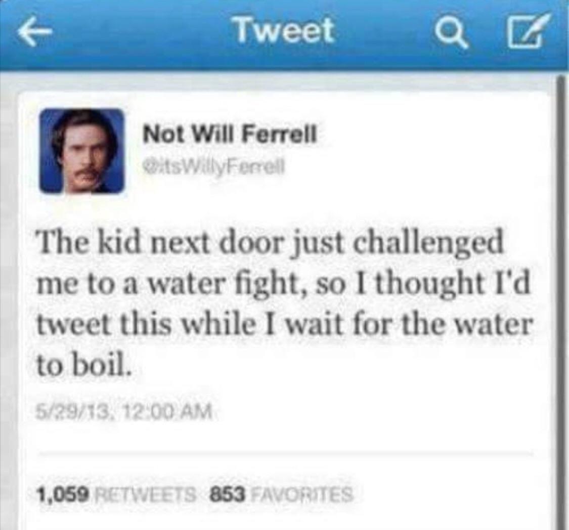 Water fight anyone?