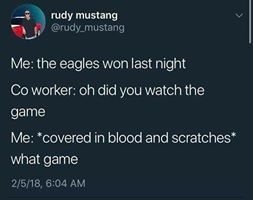 The Eagles Always Win